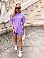 Женский костюм :футболка,велосипедки (С-Л), фото 1
