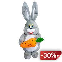 Мягкая игрушка Kronos Toys Заяц с морковкой (zol_459)