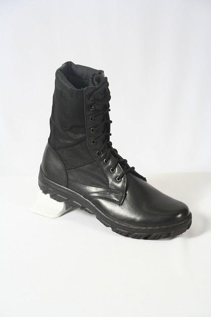 Летние  облегчённые ботинки с высокой берцей от производителя