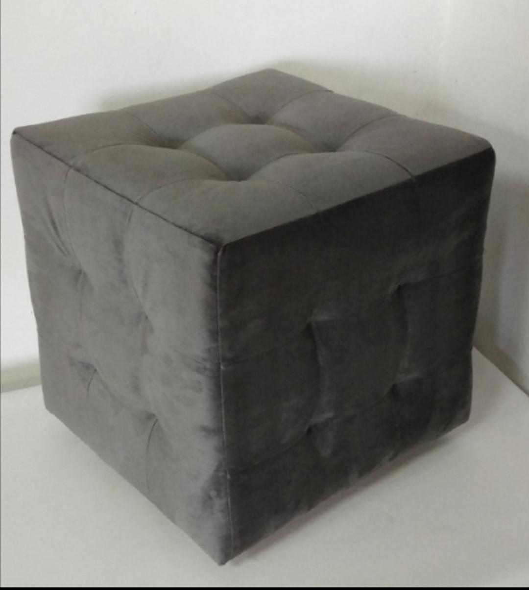 Пуф квадратний Токіо 40х40х42см.,пуфик,пуфики,пуфік тканина,пуф тканина,банкетка,банкетки,пуф куб,пуфік