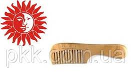 Гребень для волос Q.P.I. PROFESSIONAL деревянный с ручкой 18 см DG-0028
