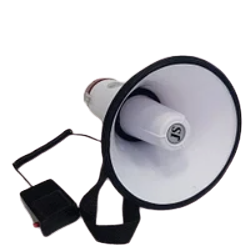 Рупор 8S микрофон, 10 сек. записи