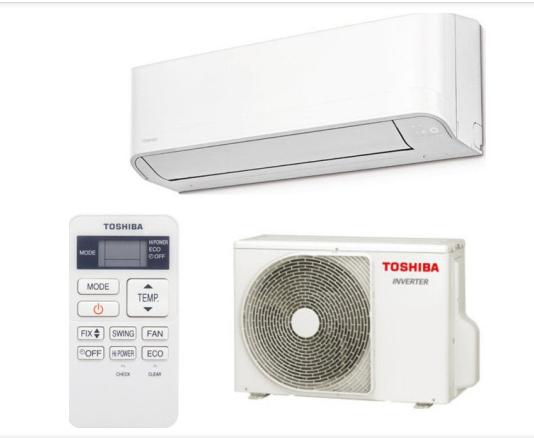 Інверторний кондиціонер Toshiba RAS-18J2KVG-UA/RAS-18J2AVG-UA від -15 до +46 з 4 функціями роботи