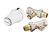 """Комплект для подключения радиаторов  тройной RAE+RA-N+RLV-S 1/2"""" прямой с преднастройкой Danfoss"""