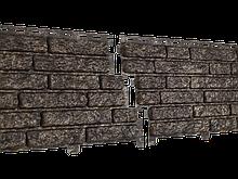 Фасадные панели U-Plast Stone House Кварцит (коричневый)