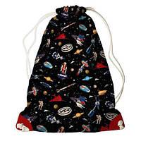 Рюкзак-мешок Путешествие в космос 33*45 см (RM_UNI005_KR)