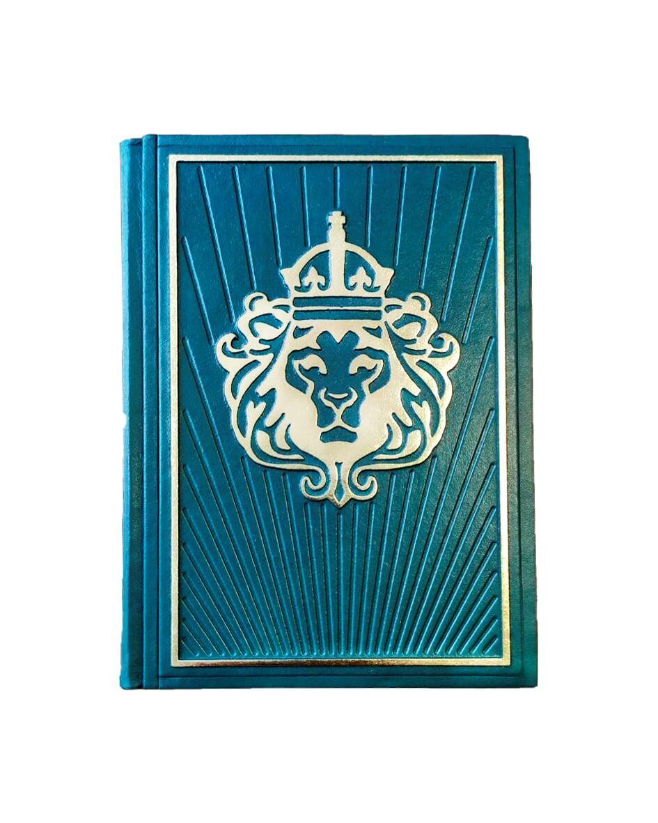 """Книга в кожаном переплете """"Мудрость лидера"""""""