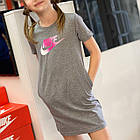 ПЛАТЬЕ G NSW TSHIRT DRESS FUTURA CJ6927-092