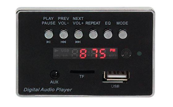 MP3 модуль 9201C с пультом ДУ и Bluetooth, WAV + APE + MP3. Встраиваемый MP3 плеер 5-12В для авто