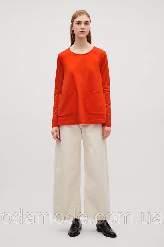 Блуза женская красная cos
