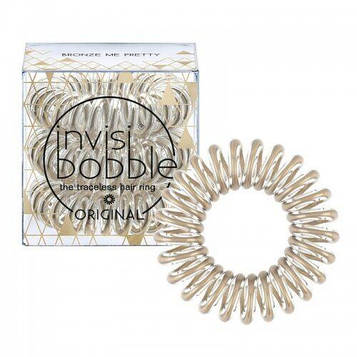 Резинка-браслет для волос invisibobble ORIGINAL Bronze Me Pretty