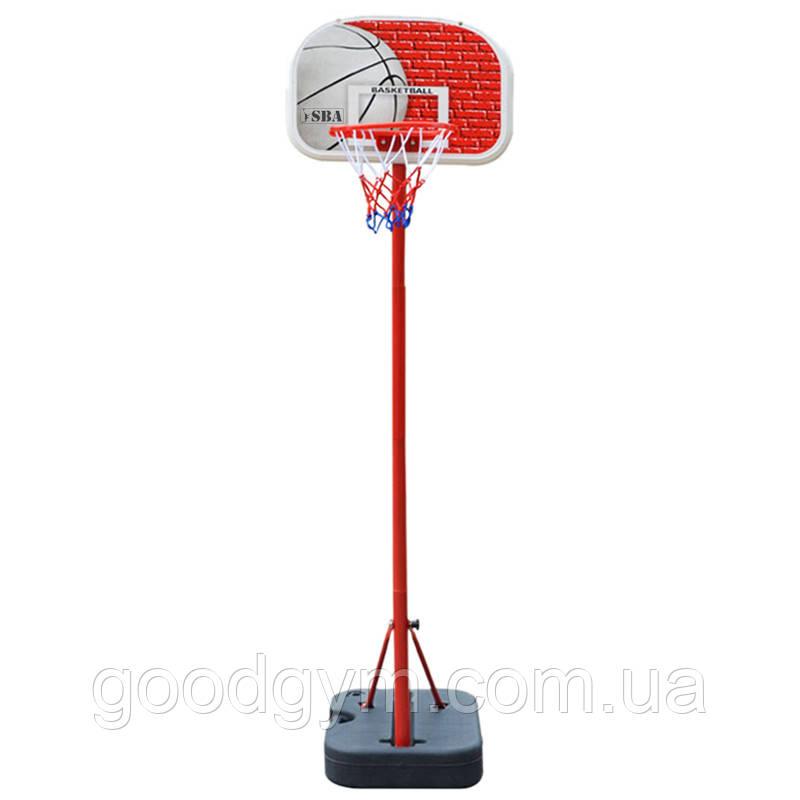Баскетбольна стійка SBA S881G дитяча 41x33 см