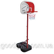 Баскетбольна стійка SBA S881G дитяча 41x33 см, фото 2
