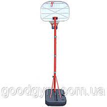 Баскетбольна стійка SBA S881G дитяча 41x33 см, фото 3