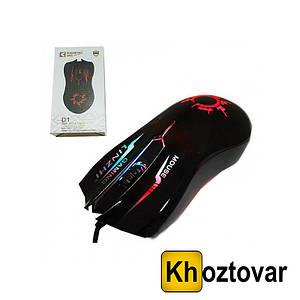 Комп'ютерна дротова, USB миша Disheng D-1