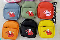 Детские барсетки сумочки через плечо (6 цветов)14*14см