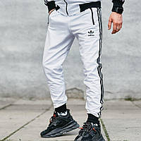Спортивные штаны в стиле Adidas Originals белые L