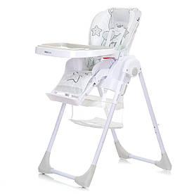 Детский стульчик для кормления Mioobaby Teddy - White