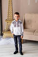 Дитяча вишита сорочка, фото 1