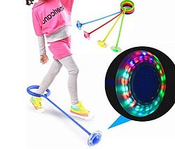 Распродажа Оригинал Нейроскакалка детская на одну ногу светящаяся