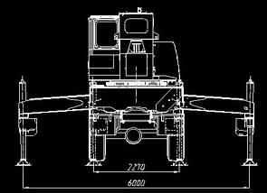 Автокран КЛИНЦЫ КС-65719-5К на шасси КАМАЗ-65222, фото 3