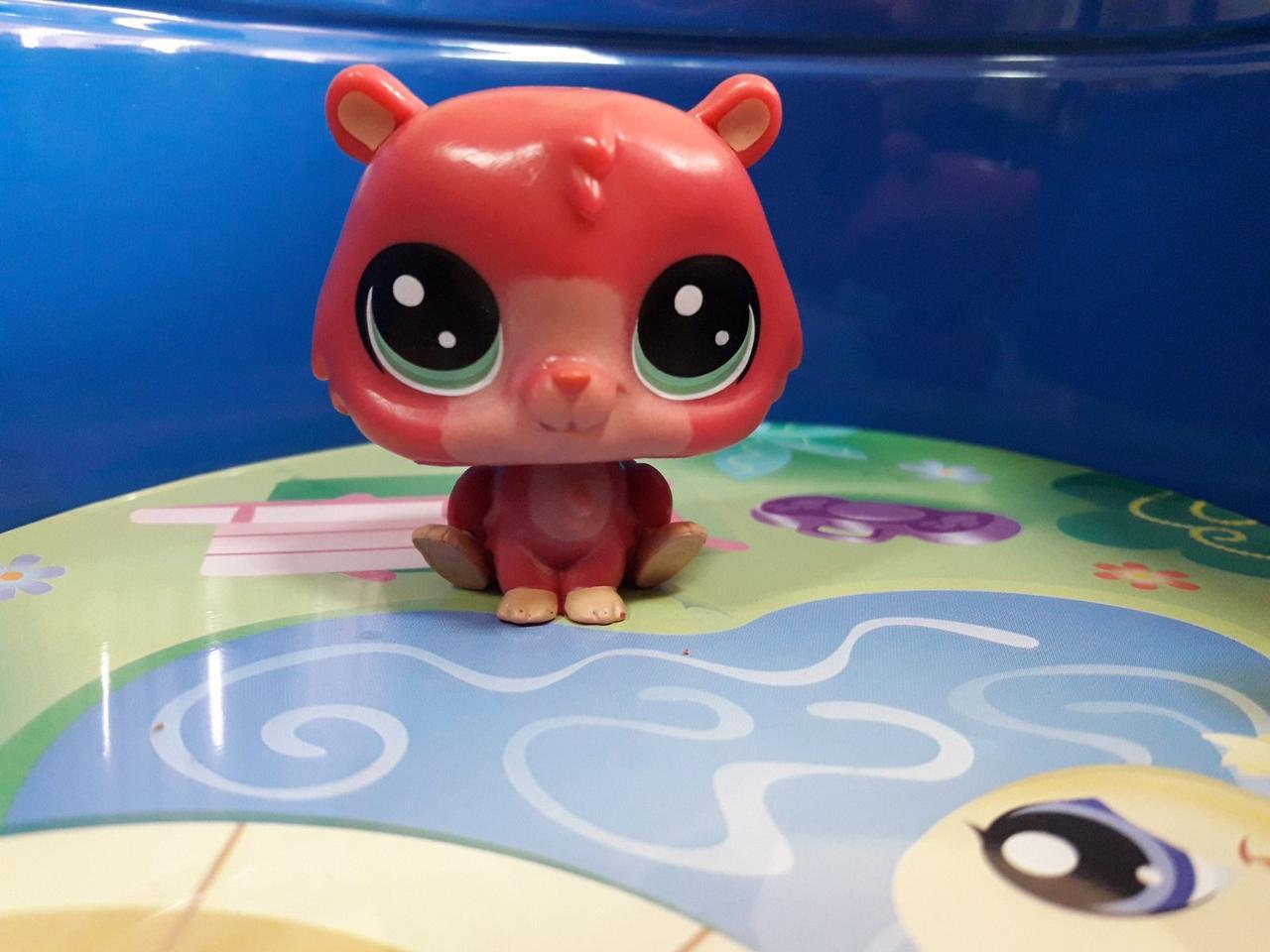 Littlest pet shop lps игрушка Hasbro лпс пет шоп хомяк