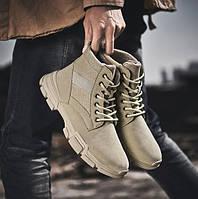 Теплые мужские ботинки. Модель 8344, фото 3