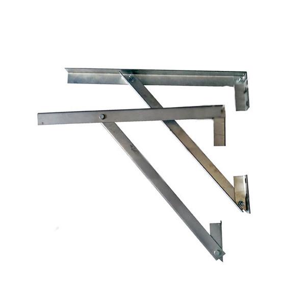 Кронштейн 400 мм для дымохода из нержавеющей стали