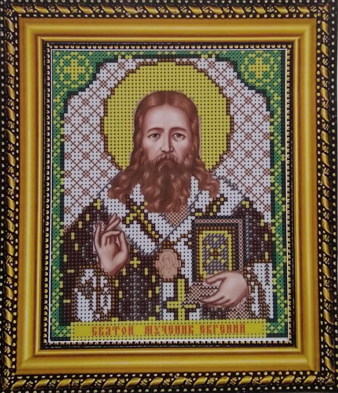 Набор для вышивки бисером ArtWork икона Святой Мученик Евгений VIA 5087