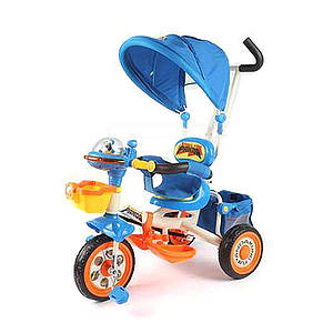 Велосипед детский трехколесный Panda Синий