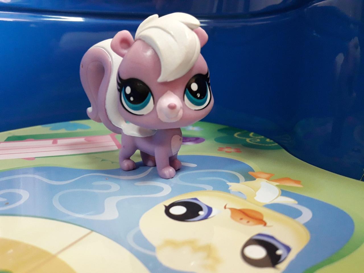 Littlest pet shop lps игрушка Hasbro лпс пет шоп скунс