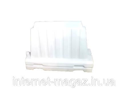 Дорожный пластиковый барьер белый 1.2 (м), фото 2