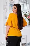 Летний костюм блузка и штаны ткань жатка софт размер 50-52,54-56,58-60, фото 6