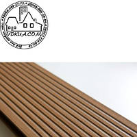 Террасная доска Gamrat Prymus (2400х140х25 мм) Светло-коричневая, Днепр