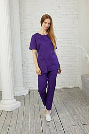Женская медицинская куртка топ Виола - Жіноча медична куртка топ Віола - Одежда косметолога