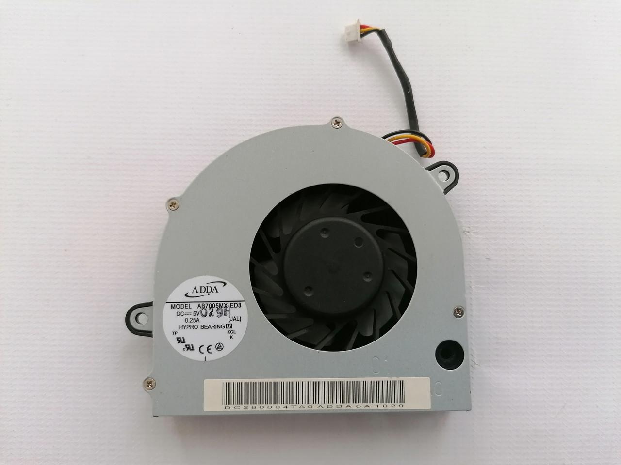 Б/У вентилятор (кулер) для ноутбука Toshiba Satellite L500 L505 L555