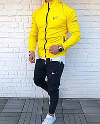 😜 Спортивный костюм -Стильный мужской спортивный костюм NIKE Classic (желтый)