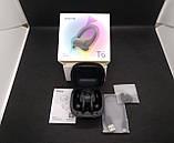 T6 Наушники беспроводные черные Xiaomi QCY T6 black TWS спортивные, фото 5