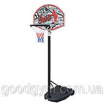 Баскетбольная стойка SBA S881R детская 66x46 см, фото 2