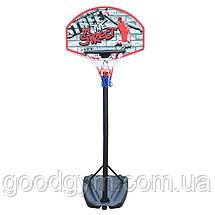 Баскетбольная стойка SBA S881R детская 66x46 см, фото 3