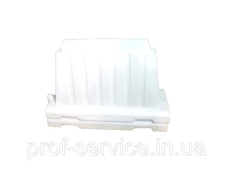 Дорожный пластиковый барьер белый 1.2 (м)