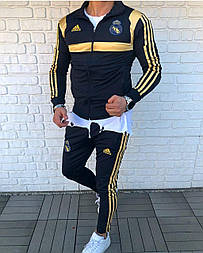 😜 Спортивный костюм -Стильный мужской спортивный костюм Adidas Real Madrid