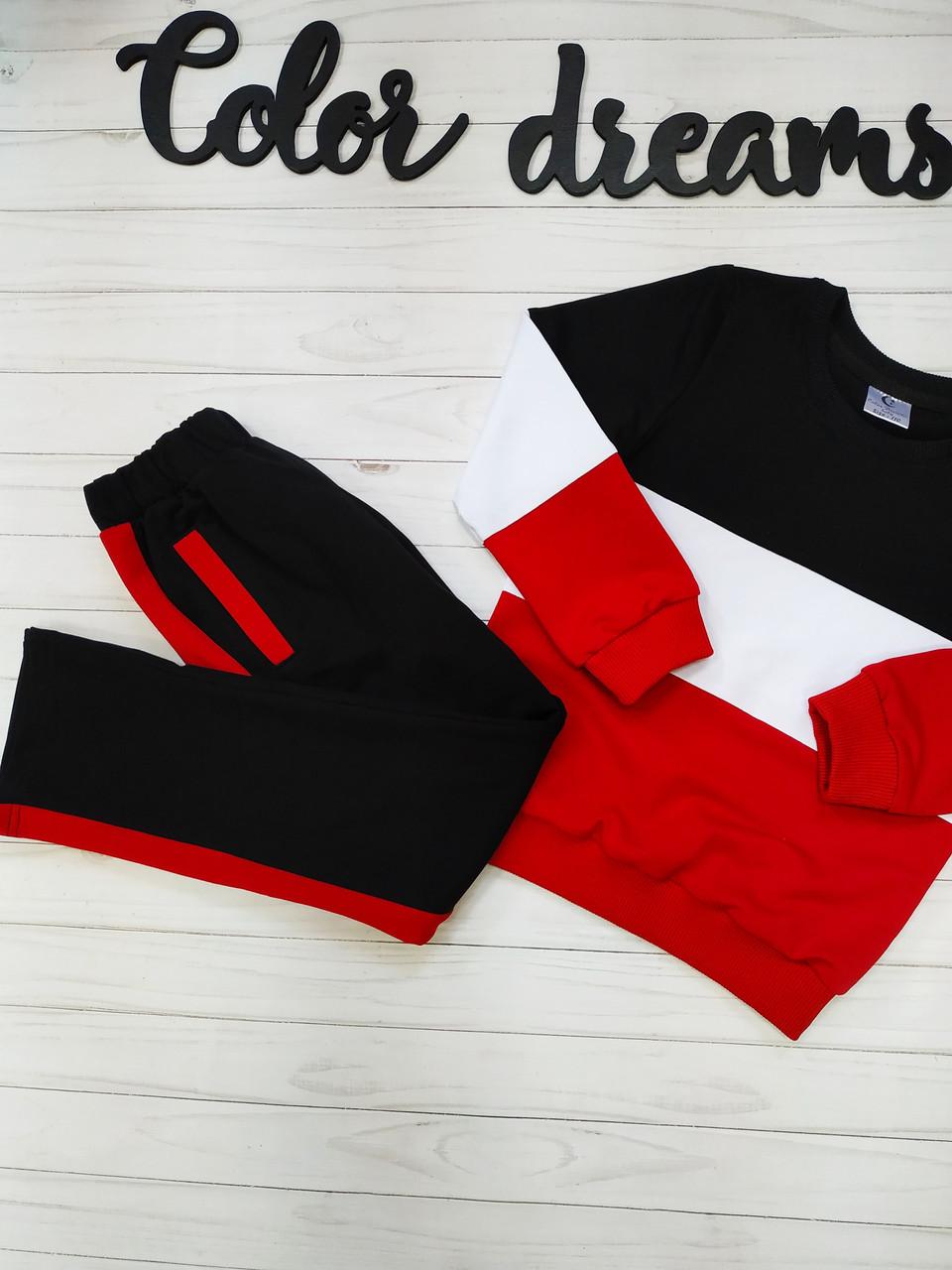 Модный детский костюм для девочки Красный
