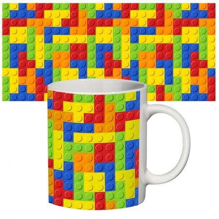 """Чашка з принтом """"LEGO"""", Кружка керамическая """"Конструктор Лего"""""""