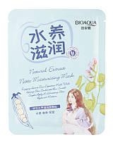 BioAqua Смягчающая маска с экстрактом сои Natural Extract Natto Moisturizing Mask 30 гр