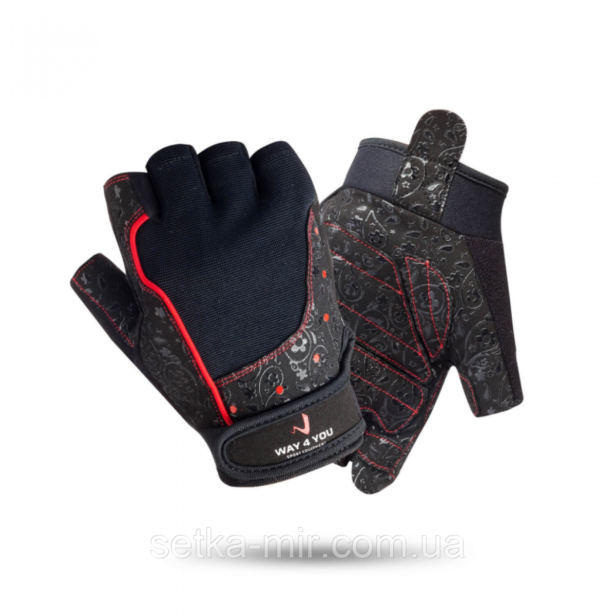 Перчатки для фитнеса Женские Black 1736