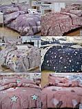 Байковый  комплект постельного белья Байка ( фланель)  Клетка, фото 4