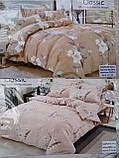 Байковый  комплект постельного белья Байка ( фланель)  Клетка, фото 5