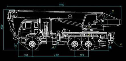 Автомобильный кран КС-55713-5К-1 — первый кран на метане марки «Клинцы»: НОВИНКА, фото 2