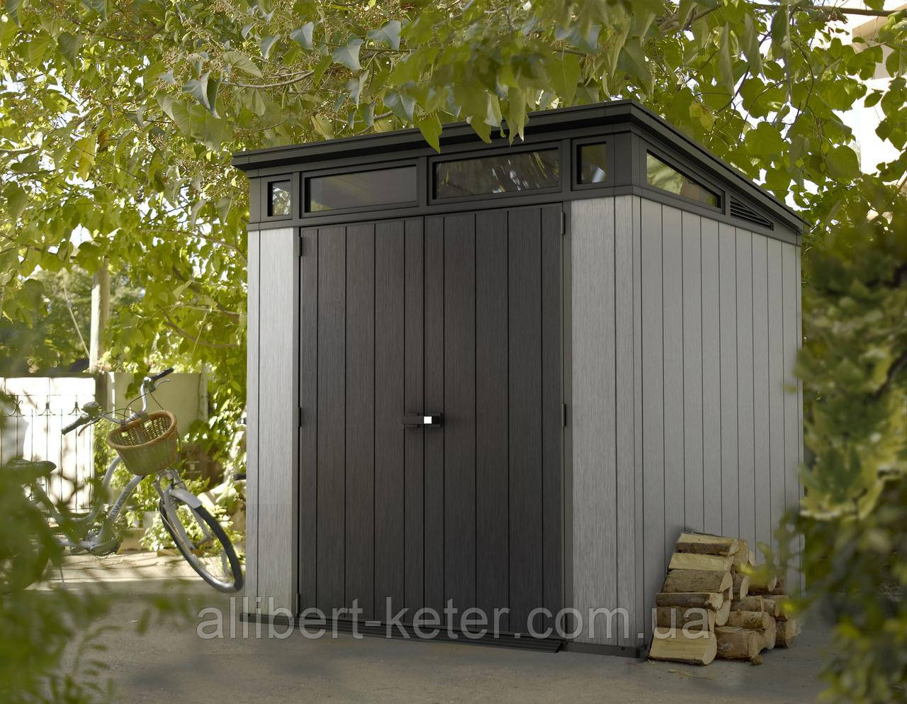 Садовый домик сарай Keter Artisan 7x7 Shed